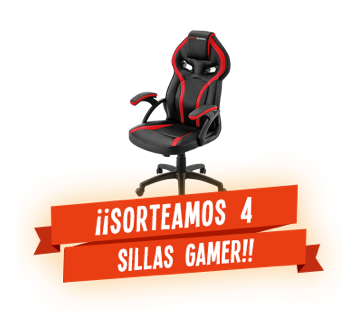 ¡¡Sorteamos 4 Sillas Gamer!!