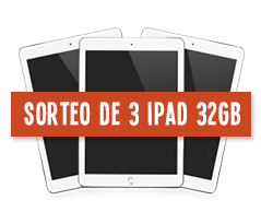 Sorteo de 3 Ipad 32GB