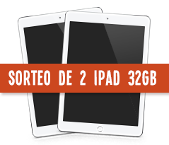 Sorteo de 2 Ipad 32GB